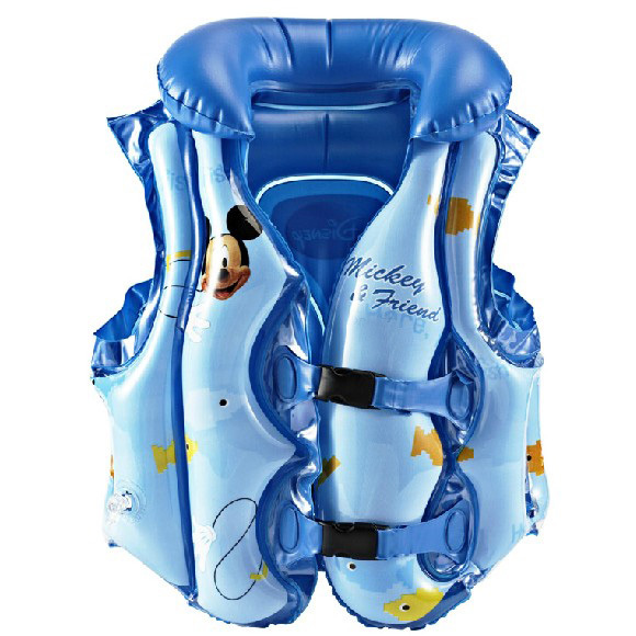 Disney Mickey Life Jacket Swim Safe Vest Aid Suit Life-Saving Survival Suit image 2
