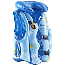 Disney Mickey Life Jacket Swim Safe Vest Aid Suit Life-Saving Survival Suit image 4