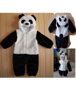Warm Panda Baby Kid Cartoon Halloween Fancy Dress Romper Costume Onesie Outfit - $31.00