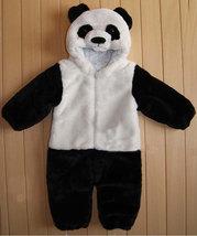 Warm Panda Baby Kid Cartoon Halloween Fancy Dress Romper Costume Onesie Outfit image 2