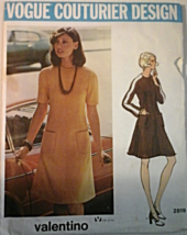 Vogue 2819 Misses' Couturier Design Dresses by Valentino  Size 10 with L... - $29.99