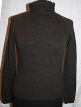 Ann Taylor Loft Sz S Brown Turtleneck Sweater Wool Blend Knit - $28.34