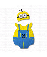 Baby Despicable Me Minion Stewart Cosplay Onesie Bodysuit Romper Jumpsuit Outfit - $25.50