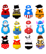 Baby Kid Cartoon Animal Grow Onesie Bodysuit Romper Outfit Costume Set Suit - $26.50