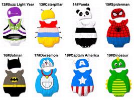 Baby Kid Cartoon Animal Grow Onesie Bodysuit Romper Outfit Costume Set Suit image 3
