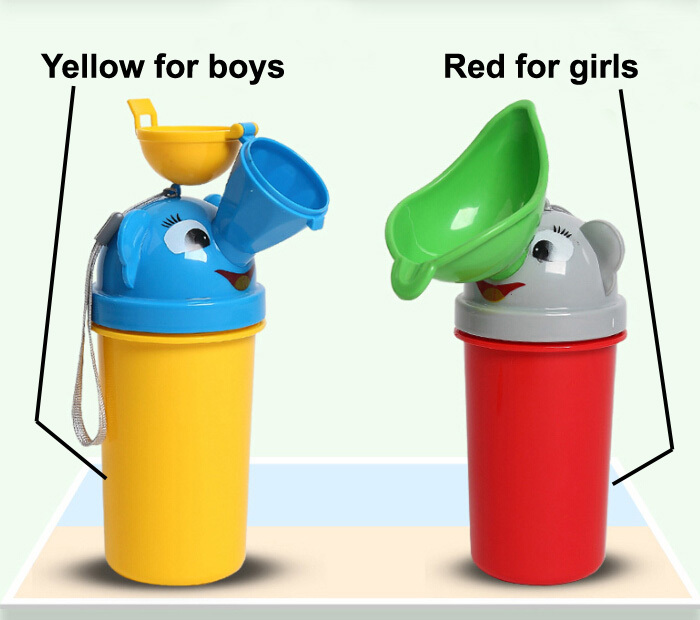 Baby Infant Newborn Outdoor Pee Portable Urinal Toilet Vehicular Potty Trainer