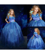 Movie Girls Cinderella Princess Cosplay Party Fancy Dress Xmas Halloween... - $28.50+