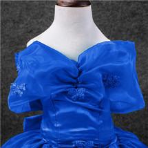 Movie Girls Cinderella Princess Cosplay Party Fancy Dress Xmas Halloween Costume image 8