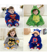 Winter Baby Kids Toddler Animal Bodysuit Romper Jumpsuit Outfit Pajamas Snowsuit - $32.00