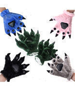 Plush Party Kigurumi Panda Bear Cat Animal Paw Claw Cosplay Fancy Dress ... - €17,46 EUR
