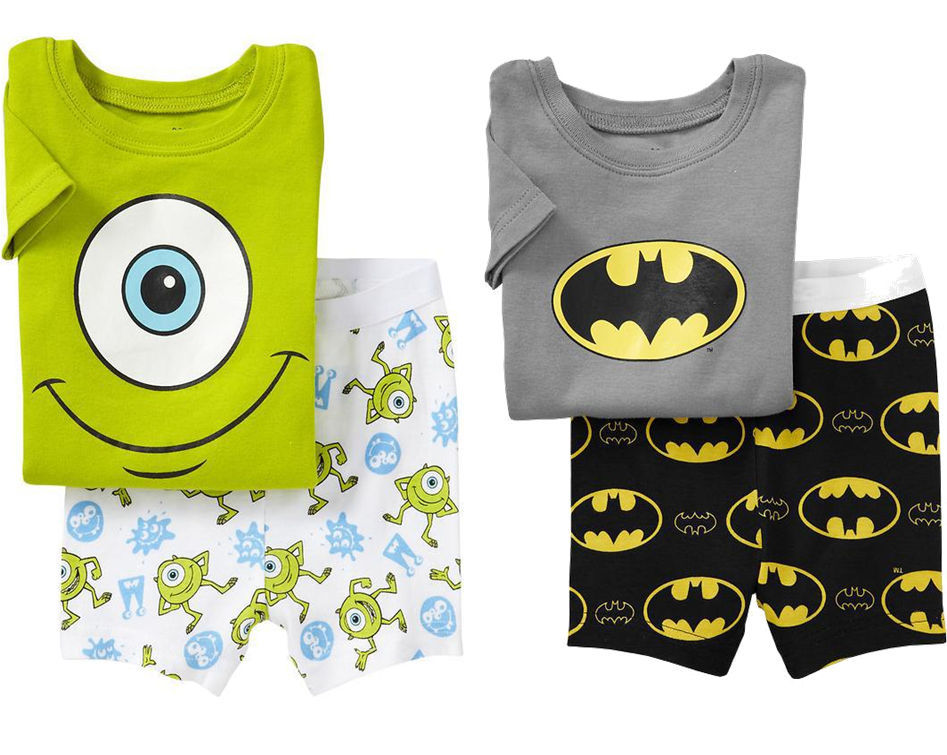 Primary image for Baby Kids Toddler Boys Monster Batman Top Pants Pajamas Sleepwear Cloth Set Suit