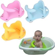Baby Infant Child Toddler Bath Seat Ring Non Anti Slip Safety Chair Mat Pad Tub image 1