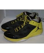 Michael Jordan Q Flight Mens Sneakers Sz 11.5 Fuse Zoom Air Black High V... - $44.02