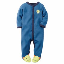 NEW NWT Boys Carter's Newborn or 3 Months Monster Sleep and Play Sleeper - $10.00