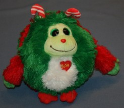 "Ty Plush Monstaz Holly Talking Stuffed Animal 7"" Christmas Holiday Merry - $14.15"