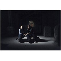 Nathan Fillion with Stana Katic Seated in Dark Room Castle TV 8 x 10 inc... - $7.95