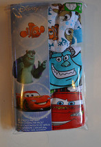 Disney Multi Character Boys Briefs 3 Pack Sizes 4 6  NIP Cars, Nemo, Mon... - $7.99