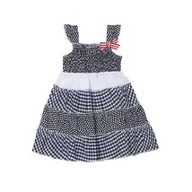 NEW Girls Rule 12 or 24 Months Gingham Smock Style Dress 4th of July Patriotic - $5.99