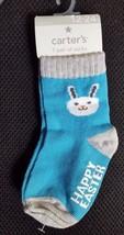 NEW Carter's Boys Easter Socks 1st Easter 12-24 Months Bunny - $6.99