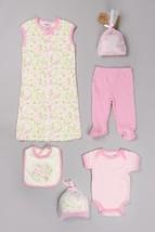 NEW Girls 0-3 3-6 Months Chick Pea by Cutie Pie 7 Piece Set Bodysuit Pants Gown - $5.99