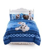 Disney Frozen Olaf Bedding Full Comforter and Sheets 4 Piece Set Pillowcase - $49.98