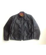 1970's  Rocker Biker Life Style Cafe Racer Motorcycle Jacket by Just Lea... - $345.00