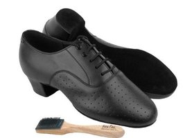 "Men Ballroom Dance Shoes from Very Fine C915108 with Shoes Brush 1.5"" He... - $79.95"