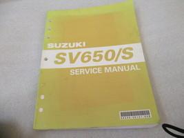Suzuki 2005 SV650/S Service Manual P/N 99500-36121-03E - $30.64