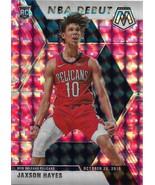Jaxson Hayes Mosaic 19-20 #267 NBA Debut Pink Camo Mosaic Prizm Rookie Card - $6.50