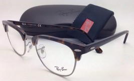 New RAY-BAN CLUBMASTER Rx-able Eyeglasses RB 5154 2012 51-21 Tortoise Frames