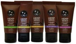 Hemp Seed Body & Hand Lotion Moisturizer Cream Earthly Body 7 oz New - $15.99