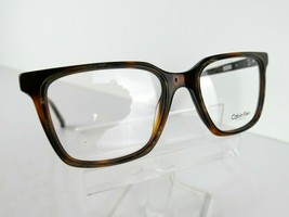 CALVIN KLEIN CK 8579 (244) Brown Horn/ Soft Tortoise  53 X 18 135 Eyeglass Frame - $79.15