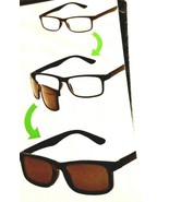 +1.50 Foster Grant Clear Way Style Reading Glasses & Magnetic Sunglasses... - $9.24