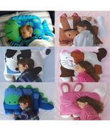 Baby Kids Toddler Cartoon Animal Pillowcase Standard Sham Sleep Pillow Support - $25.50