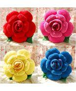 Rose Flower Shape Bed Sofa Chair Throw Cushion Lumbar Pillow Lover Weddi... - $20.50+