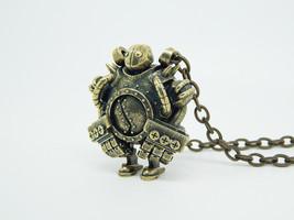 Blitzcrank league of legends inspired Necklace Pendant Geekery Video Gam... - $46.60