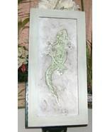 3D Gecko or Geico Wood Framed Folk Art - $20.00