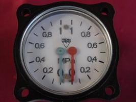 VTG  SOVIET CZECHOSLOVAKIA DASH PANEL PRESSURE GAUGE TRUCK RAT ROD HOT F... - $22.83