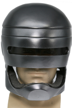 Robocop Black Mask Halloween Cosplay Costume Resin Full Head Helmet Prop... - $92.13 CAD