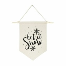 Let It Snow Hanging Wall Banner - $16.83