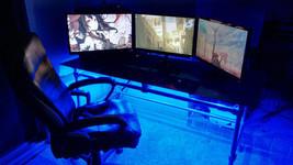 Color Changing DESK light --- Game Gamer Room Accent Lighting SET - NEW ... - €42,58 EUR