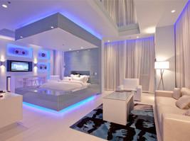BEDROOM Furniture Bed or Dresser Mirror Lighting KIT - Under Bed or BE C... - €94,73 EUR
