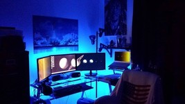 Study Desk Lighting / Light -- 8 ft KIT -- Remote Control -- FUN Gift 4 ... - €42,77 EUR