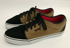 Vans Shoes Mens Size 10 Tan Brown Black Lo - Rare Colorway! - $38.52