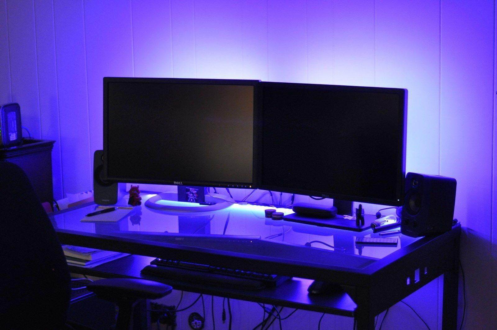 Gaming LED lights _______ Gamer Desk Lights great Christmas GIFT 2015 Christmas