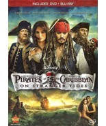 Pirates of the Caribbean: On Stranger Tides (2011 Blu-ray/DVD, 2-Disc Se... - $7.85
