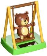 Solar Powered Dancing Bear Swinging - $3.25