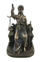 """7"""" Lady Justice Statue Greek Goddess Rome Statue Collectible Sculpture Law - $49.00"""