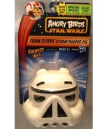 Angry Birds Star Wars STORM TROOPER PIG Foam Flyers - Soft And Squeezeab... - $6.29