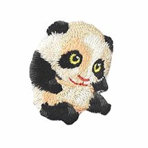 15 Pcs Panda Applique Patches Embroidery Applique Iron on Patches Animal... - $12.68